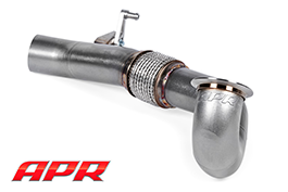 APR Cast Downpipe w/Cat (15+ A3 Quattro, S3, Golf R)