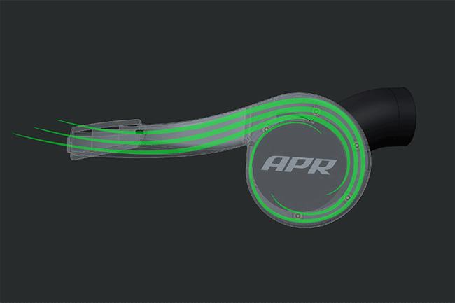 APR MK7 Intake Volute Filter Chamber