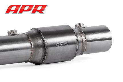 APR Catalytic Converter Installed