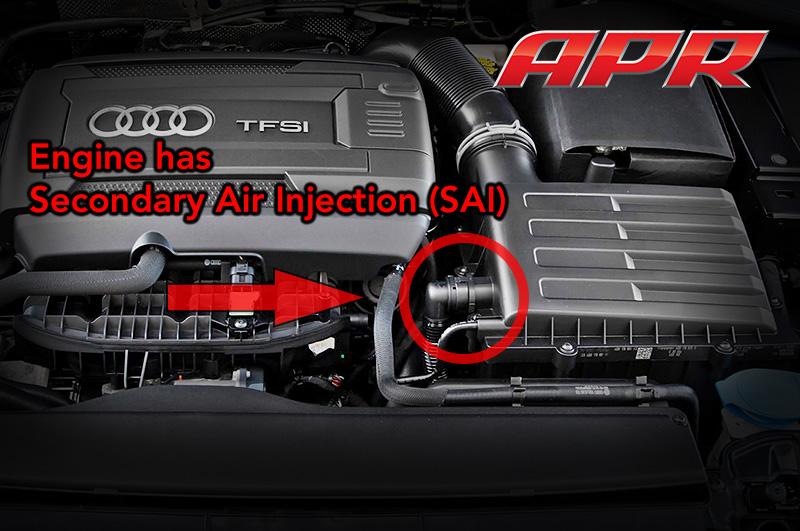 Engine with SAI